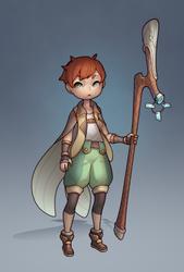 Lucas the Shepherd alt outfit by HEARTZMD