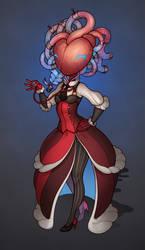 The Heart Faced Girl by HEARTZMD