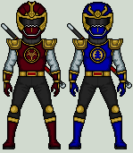 Ninja Storm Thunder Rangers by Doyle-Wilson