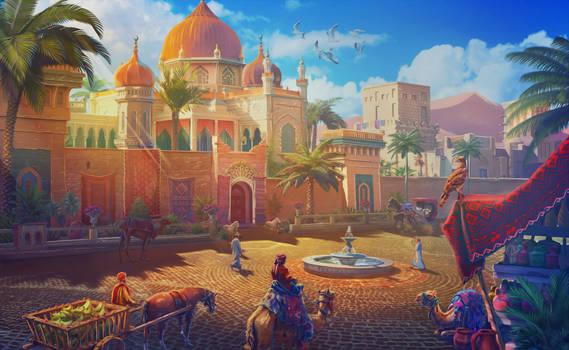 Arabic Square