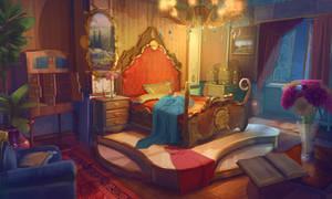 Baroque Sleeping Room