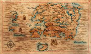 Western Hemisphere of Nirn (Revisited)