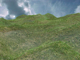 The grassy Hills by telruya