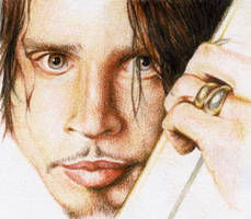 Chris Cornell Colour sketch by childproof