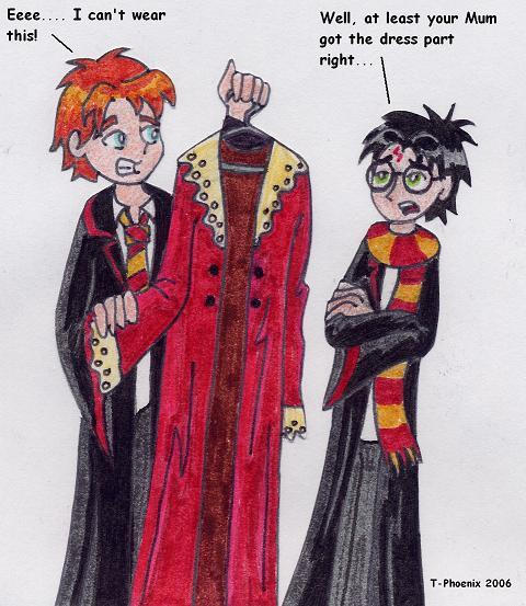 Dress Robes by Heliotrope-Housecat