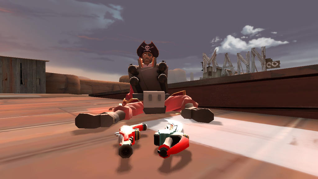 The Coming of Gokaiger in TF2 by 2K11CiNCo
