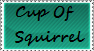 Cup Of Squirrel Stamp #2 by LittleWolfGirl69