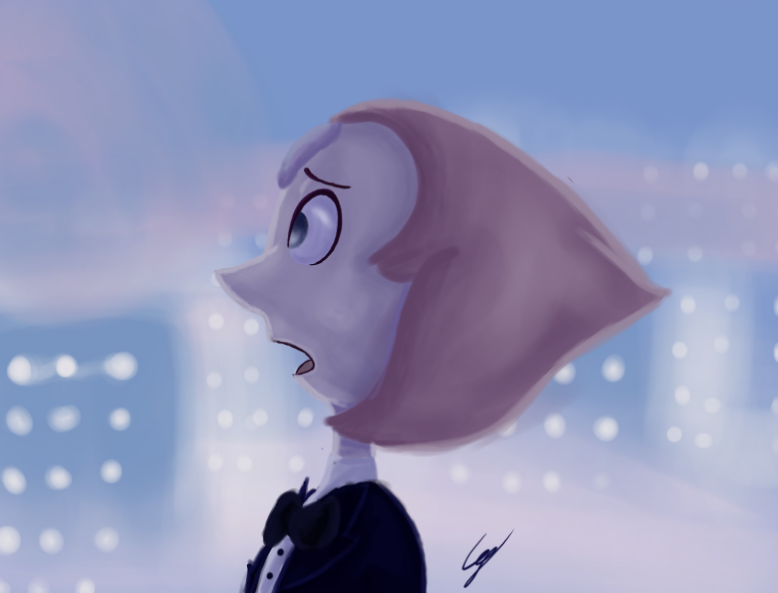 I love that song so much and pearl is one of my favorite charakters in Steven Universe! You can watch the speedpaint of this drawing at: www.youtube.com/watch?v=0UgWQO…