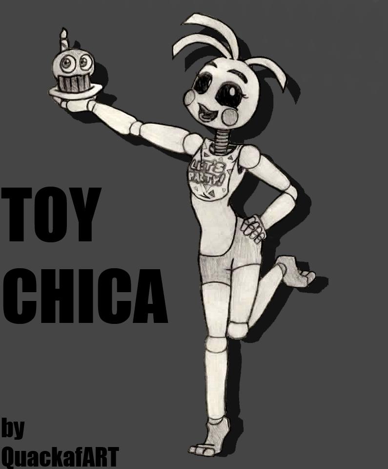 Toy Chica by QuackafART