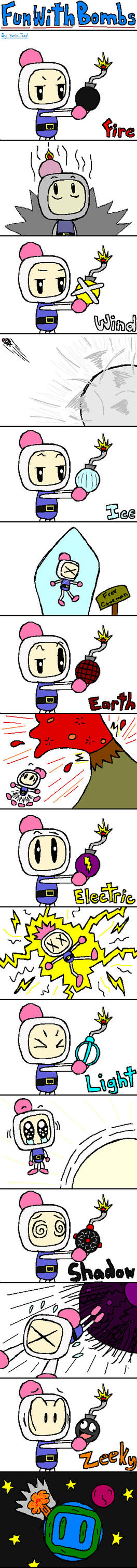 Fun With Bombs by Sonic-Toad