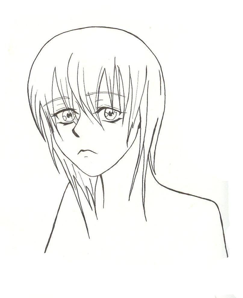 Line Drawing Of Sad Face : Sad face o by teaandcakecomics on deviantart