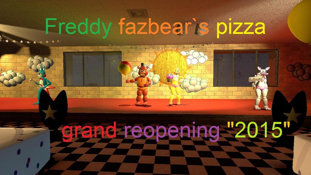 Где находится freddy fazbear pizza