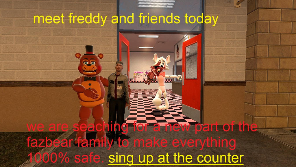 the new freddy fazbears pizza commercial part 2 by thomas0789 on