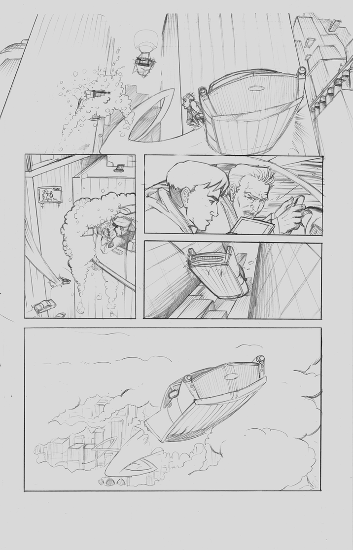 Gateway Runners #1 pg 12 by agpierce