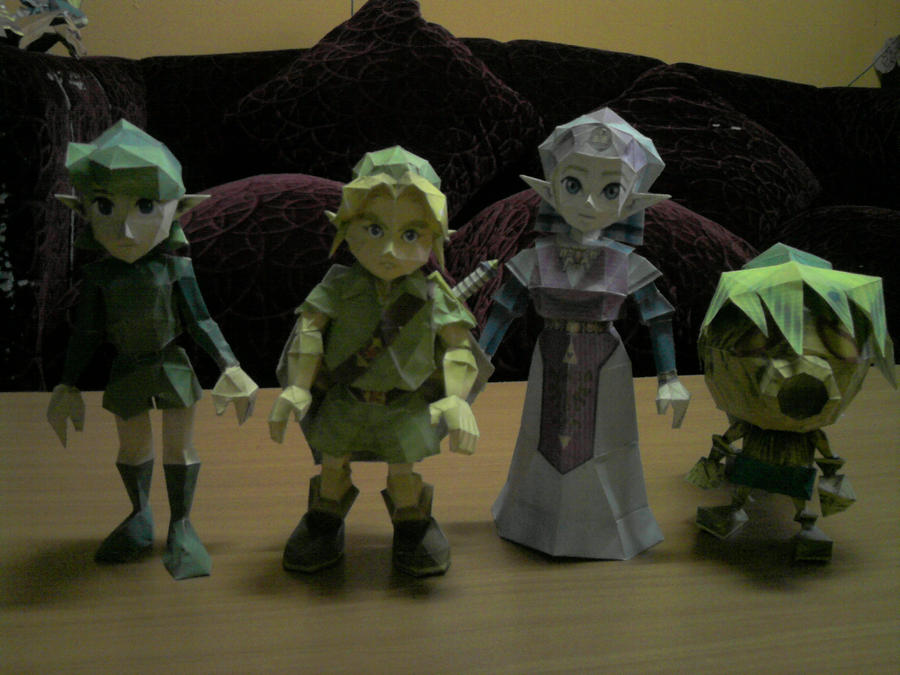 TLOZ Characters by Endo-Chan