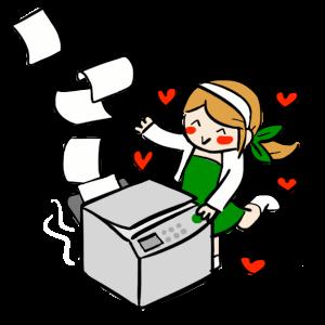 La musa y la fotocopiadora by gurrupurru