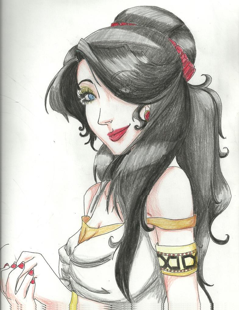 Hera Greek Goddess Cartoon Lady hera commission by