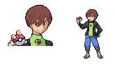 Pokemon shining wish rival Jason by Omega9898