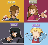 Pokemon shining wish elite four by Omega9898