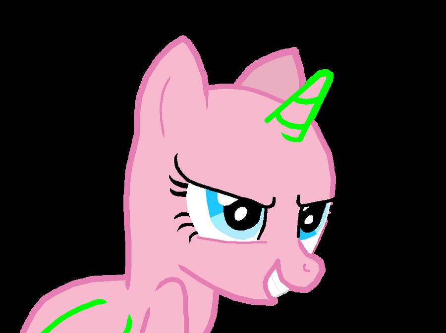 Evil Pony base by Invader-Alexis2 on DeviantArt