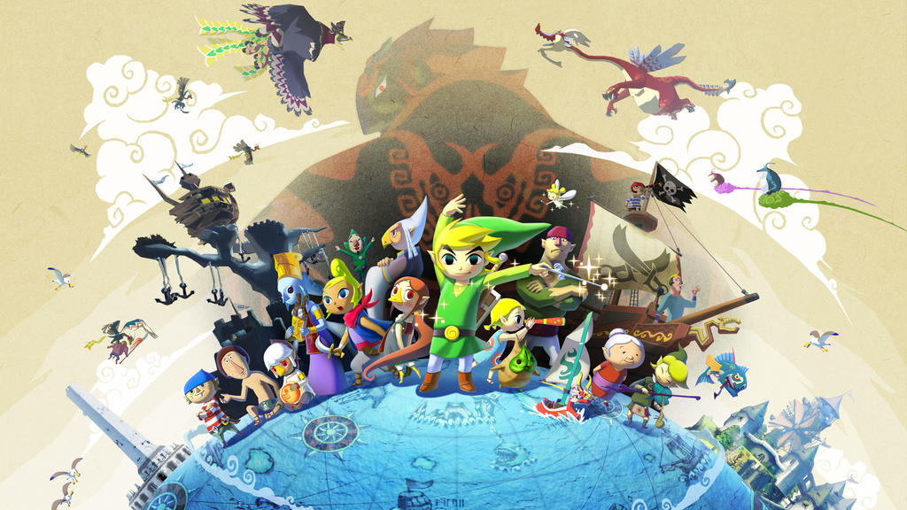 The Legend Of Zelda The Wind Waker by vgwallpapers