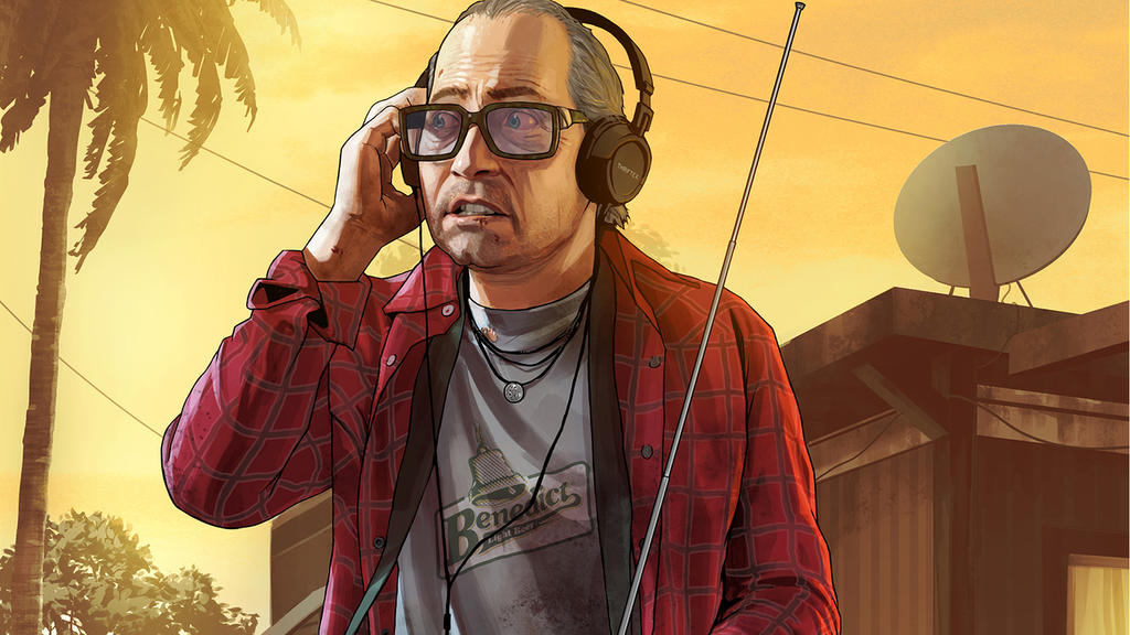 Grand Theft Auto V by vgwallpapers