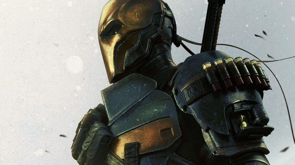 Batman Arkham Origins Deathstroke by vgwallpapers