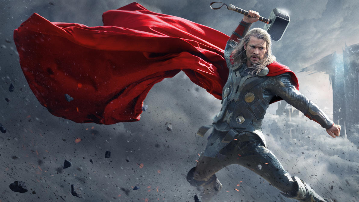 Thor The Dark World by vgwallpapers