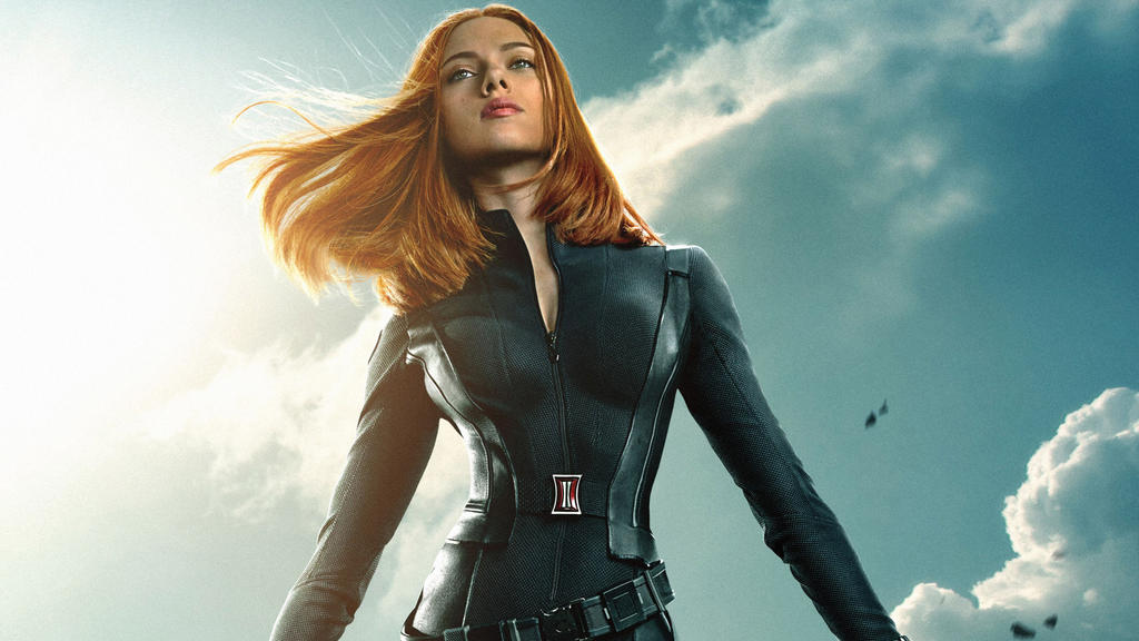 scarlett johansson in The Winter Soldier by vgwallpapers ...