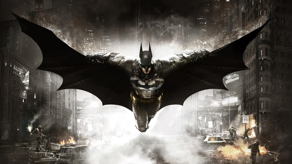 Batman Arkham Knight by vgwallpapers