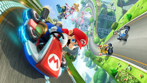 Mario Kart 8 by vgwallpapers