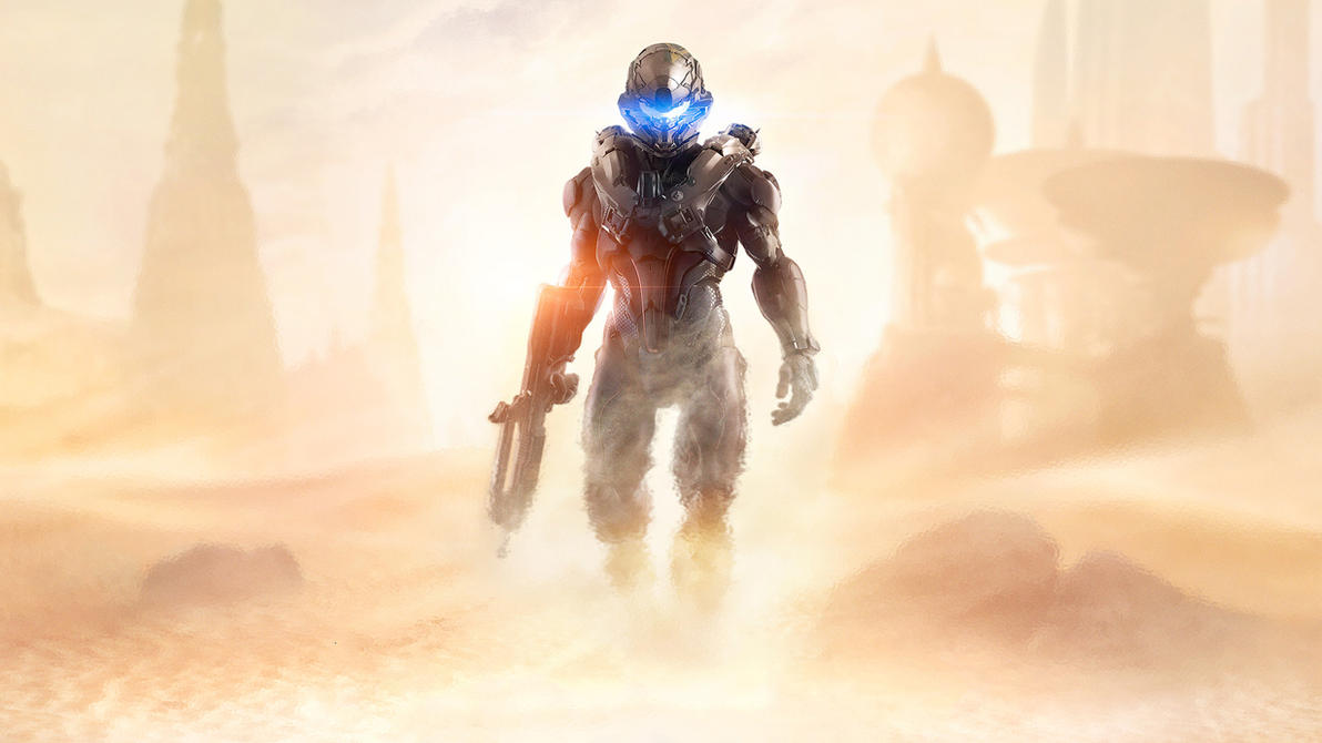 Halo 5 Guardians Wallpaper: Halo 5 Guardians The New Guy By Vgwallpapers On DeviantArt