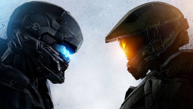 Halo 5 Guardians face off