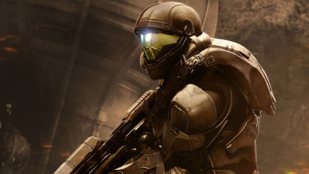 Halo 5 - Buck by vgwallpapers