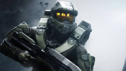 Halo 5 - Chief by vgwallpapers