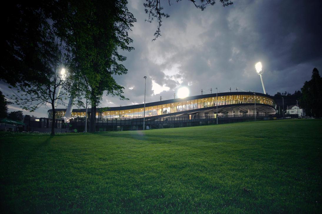 Football stadium maribor 01  by razakiani77