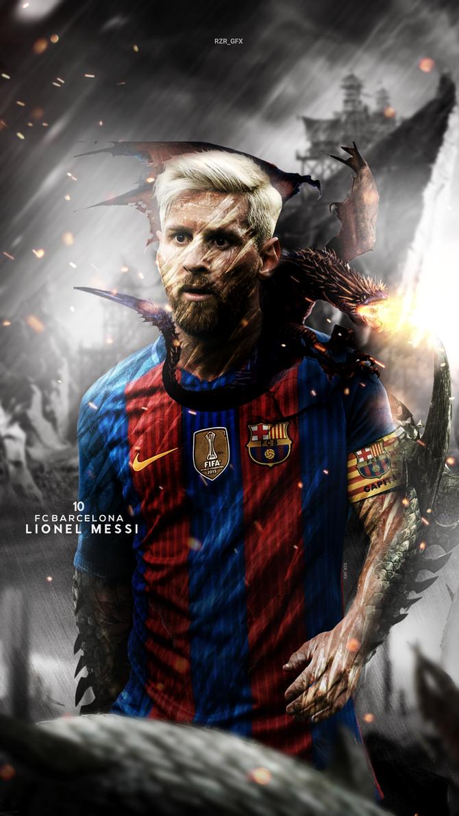 Messi lockscreen 2016 by razakiani77