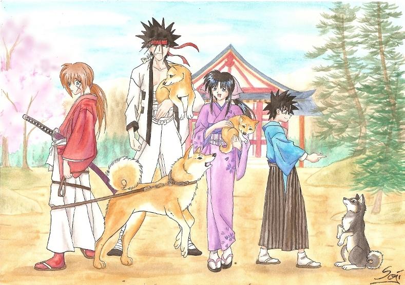 Inu Invasion by Samurai-Akita