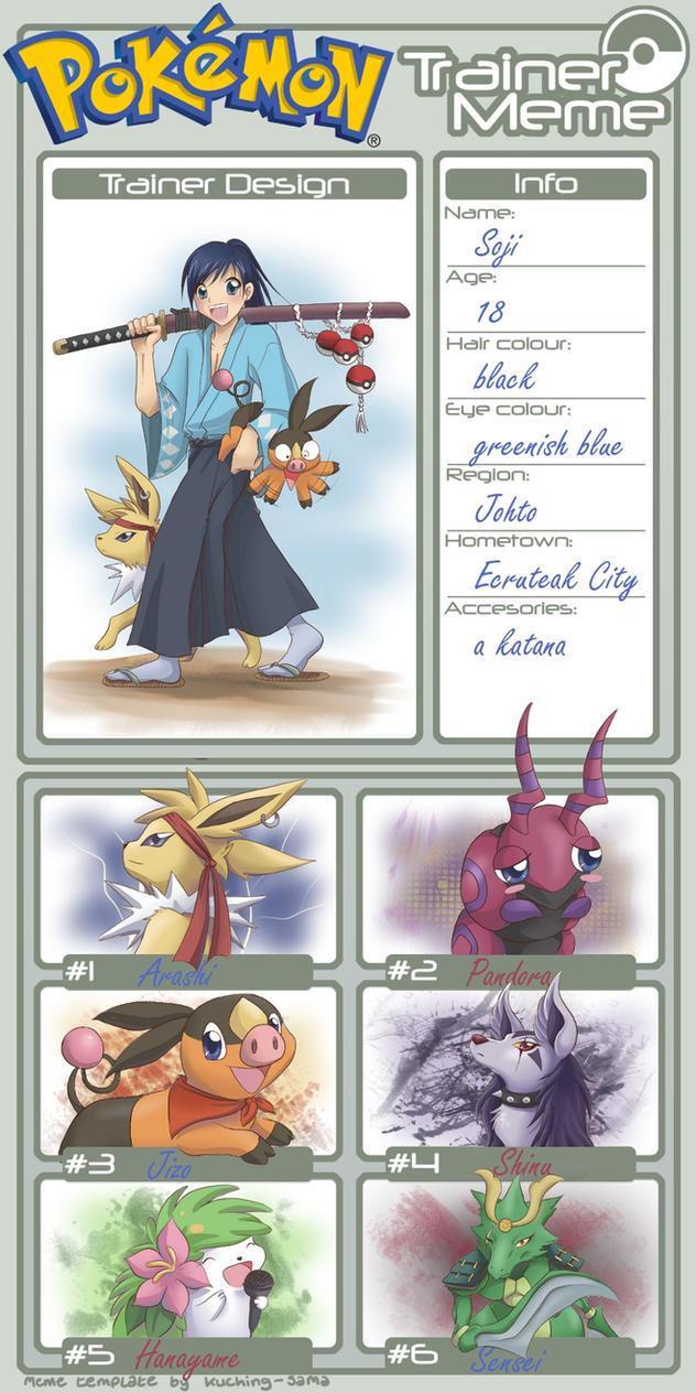 Pokemon Trainer Meme by Samurai-Akita