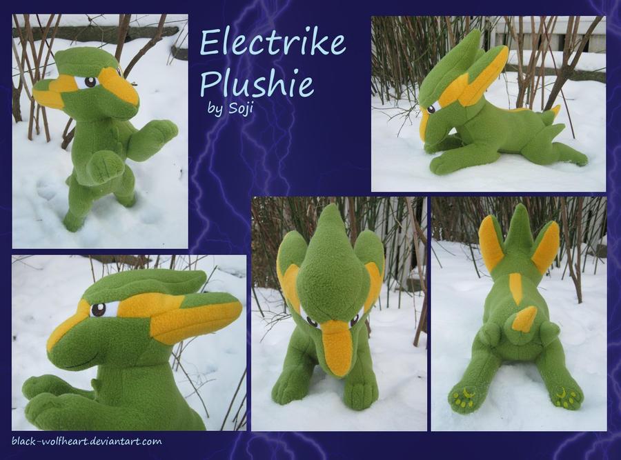 Electrike Plushie by Samurai-Akita