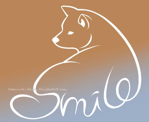 Akita Smile logo by Samurai-Akita