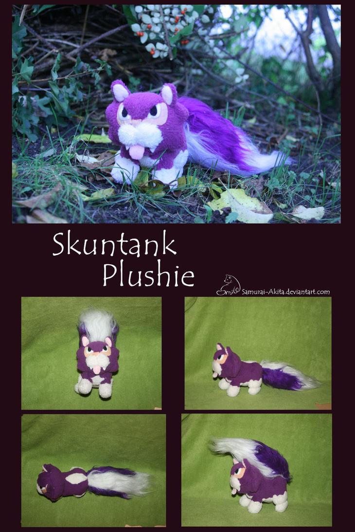 Skuntank Plush by Samurai-Akita