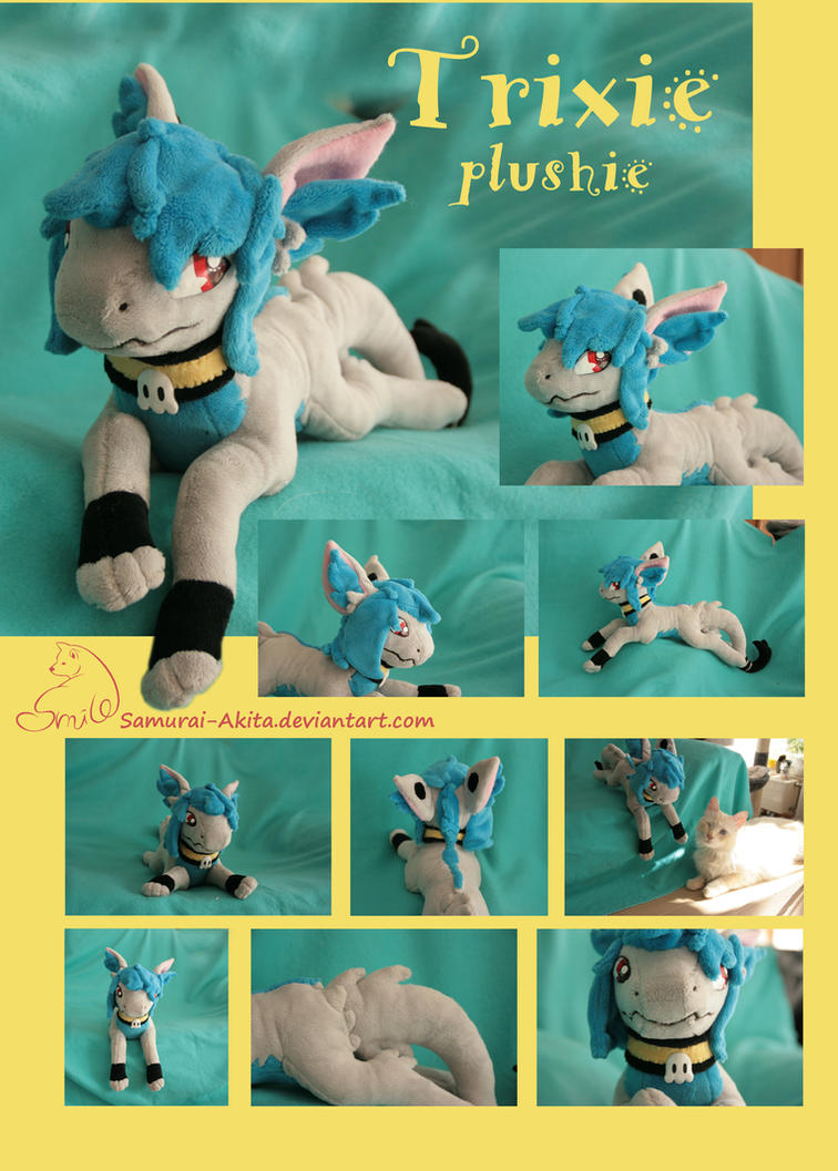 Trixie Plush by Samurai-Akita