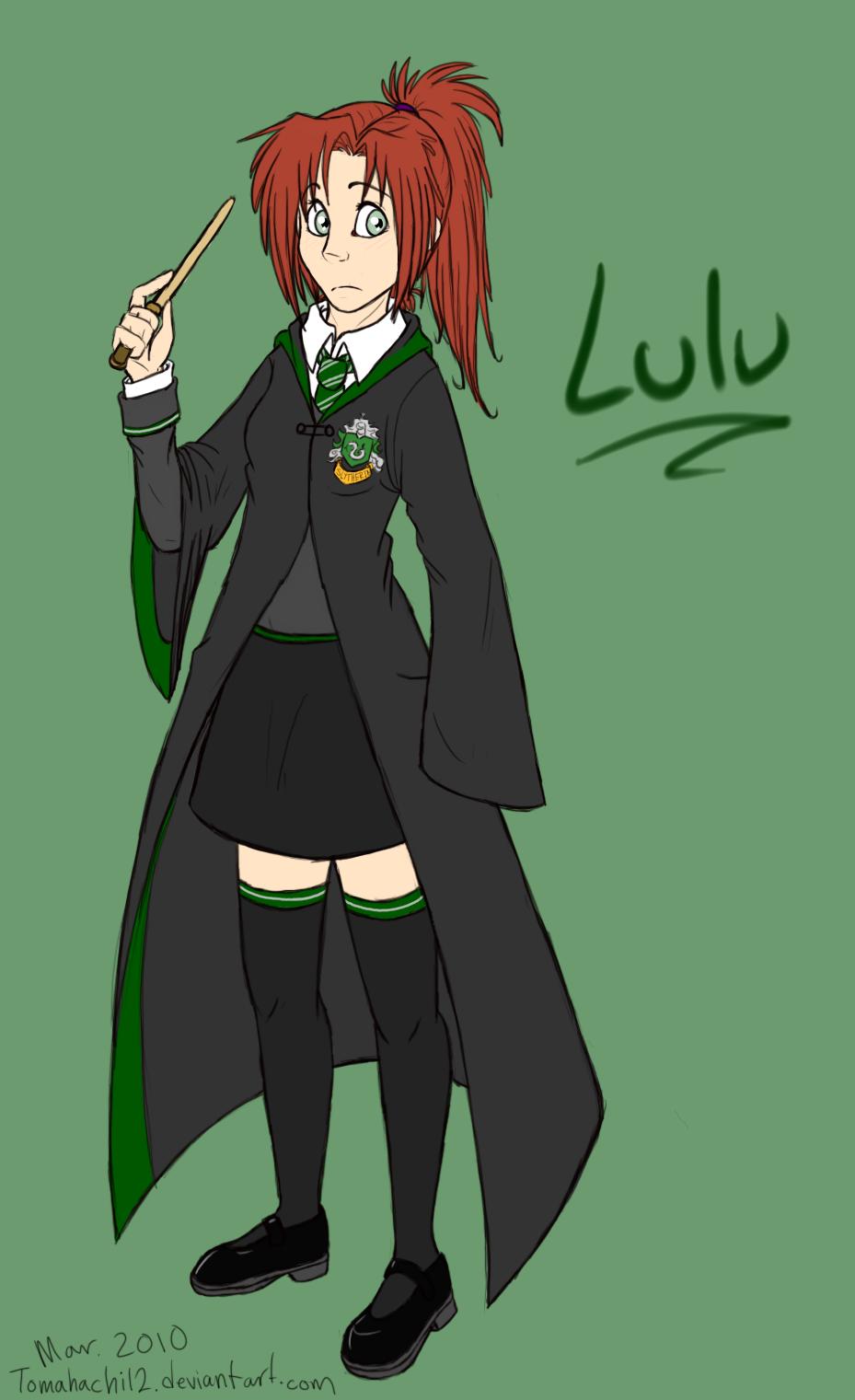 Harry Potter OC: Lulu by tomahachi12 on DeviantArt