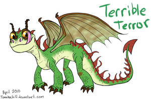 HTTYD Terrible Terror by tomahachi12