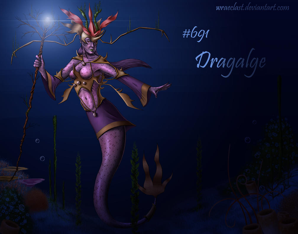 dragalge concept by wraeclast on deviantart