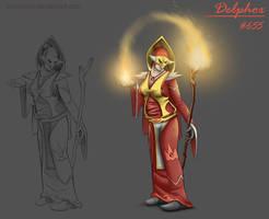 Delphox Concept by Wraeclast