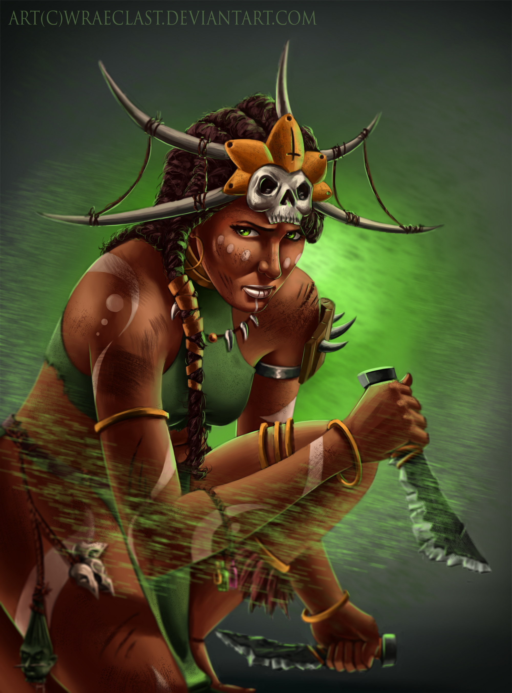 Diablo 3 - Witch Doctor by Wraeclast on DeviantArt