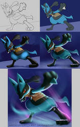 Smash Bros. [Lucario] Step by Step by Wraeclast