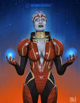 Samara [Mass Effect] by Wraeclast